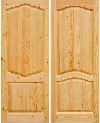 производство входные двери сосна